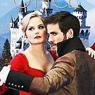 Captain Swan Fairy Tale Watercolor Design 1 by Marianne Paluso