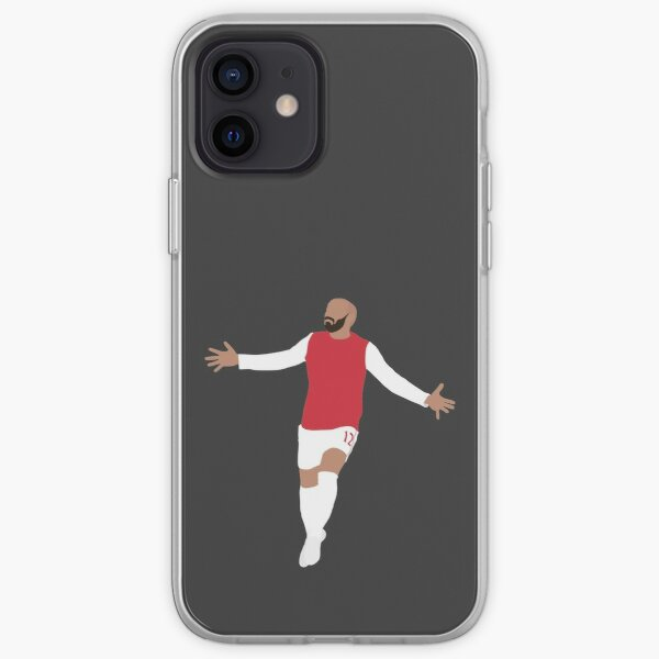 Thierry Henry. Arsenal, Football. iPhone Soft Case