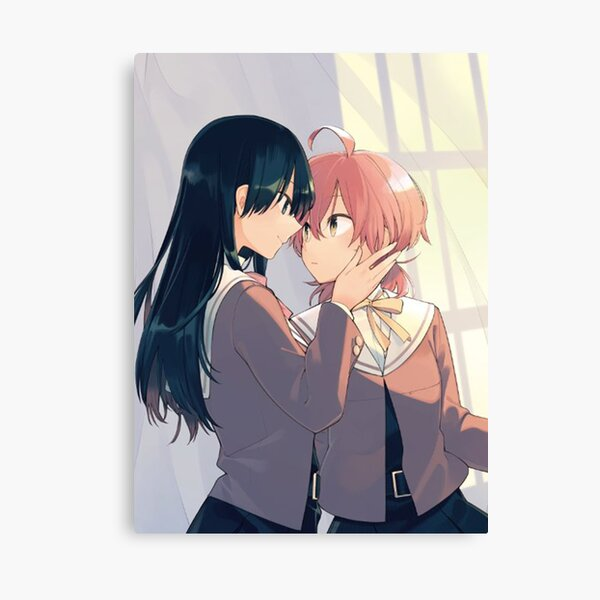 Yuu & Nanami - YagaKimi/Bloom into You Canvas Print