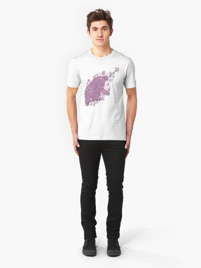 Alternate view of The mythical Bearnicorn Slim Fit T-Shirt