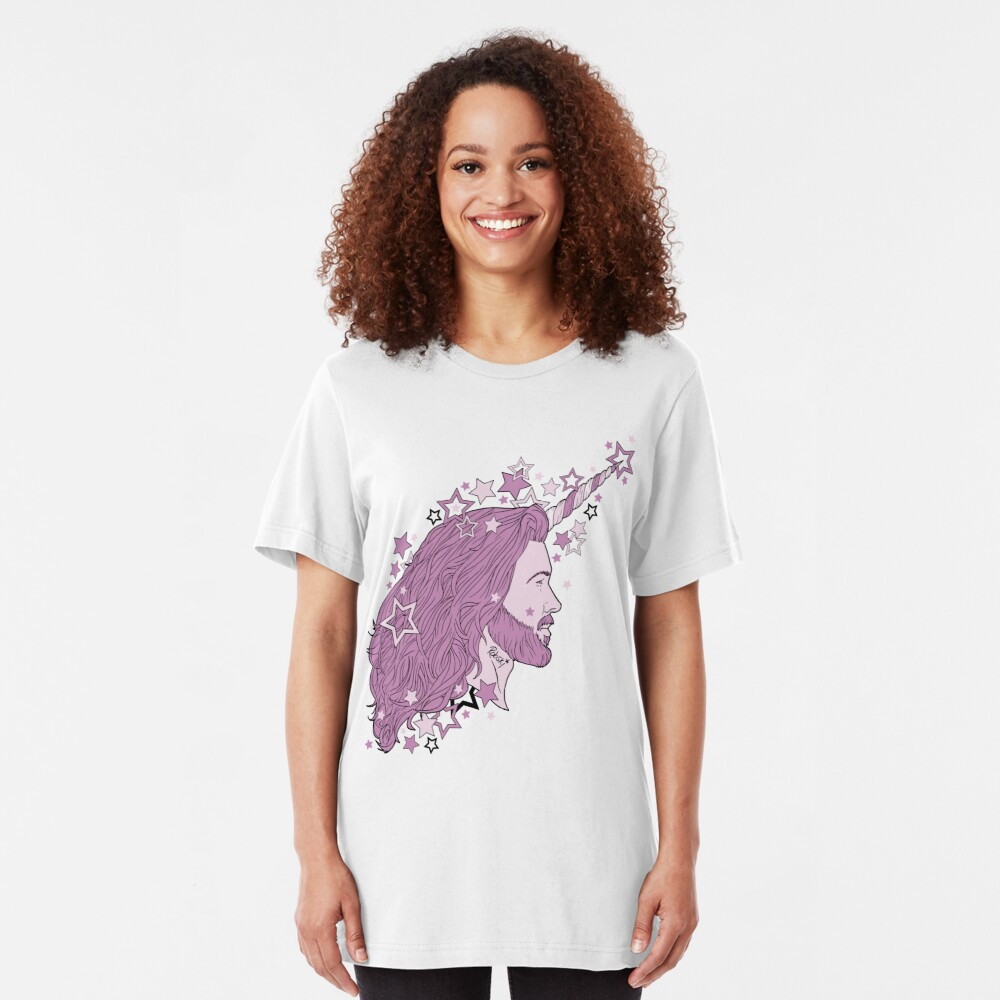 The mythical Bearnicorn Slim Fit T-Shirt