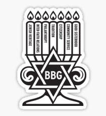 bbg menorah Sticker