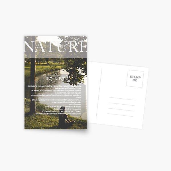 Nature Poster Postcard