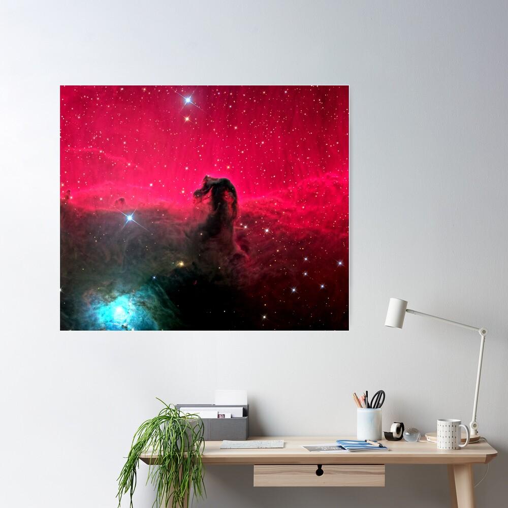 The Horsehead Nebula. Poster