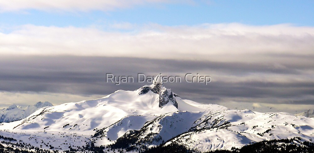 Black Tusk, Whistler by Ryan Davison Crisp