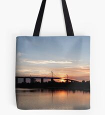 Westgate sunset Tote Bag