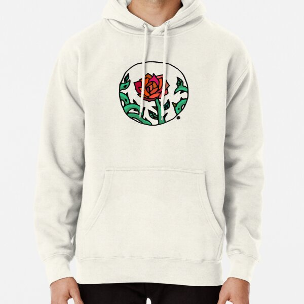 Rose Cameo Pullover Hoodie