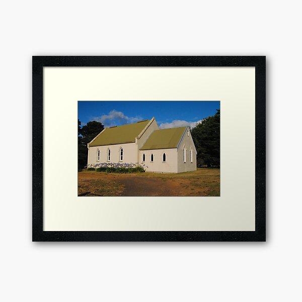 Uniting Church - Doreen, Victoria Framed Art Print