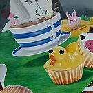 Its a Ducky Cupcake  by DEB CAMERON