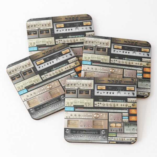 Amplifiers Mix Coasters (Set of 4)