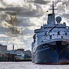Cruise Ship Marco Polo by Chris Cardwell