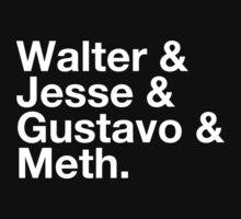 Walter & Jesse & Gustavo & Meth | Unisex T-Shirt