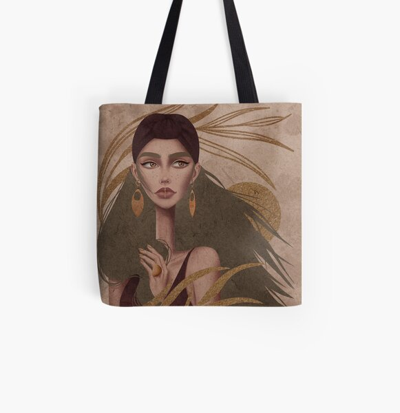 Windy All Over Print Tote Bag