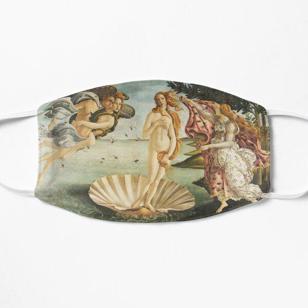 VENUS. The Birth of Venus, 1486, Sandro Botticelli. Flat Mask