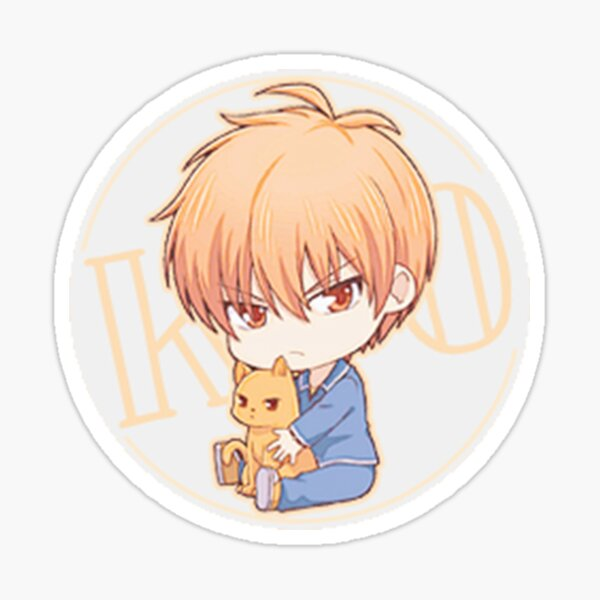 Cute Kyo (Fruits Basket) Sticker