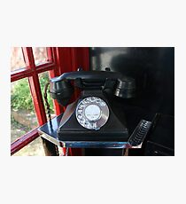 Telephone Photographic Print