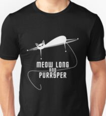 Spockat - Meow long and purrsper T-Shirt