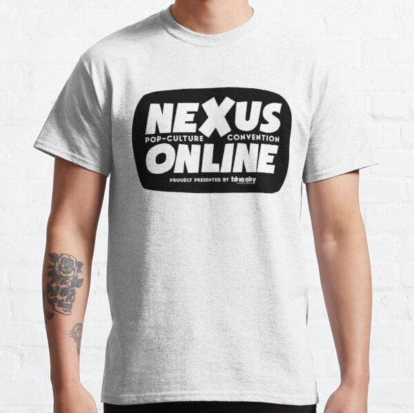 Nexus Online Logo Bubble - Black Classic T-Shirt