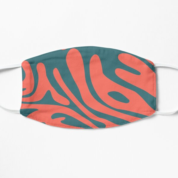 Living Coral in the Deep Sea - Pantone Color Trend 2019 Mask