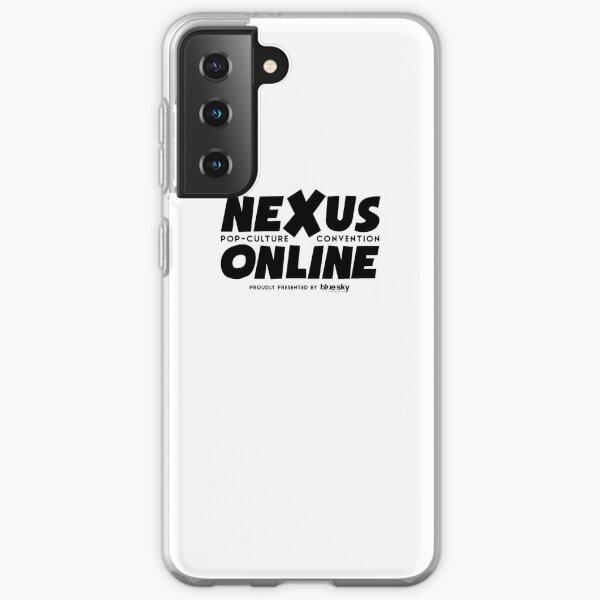 Nexus Online Logo Text - Black Samsung Galaxy Soft Case