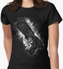 The system holds justice at gunpoint Women's Fitted T-Shirt