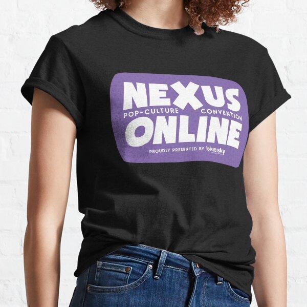 Nexus Online Logo Bubble - Purple Classic T-Shirt