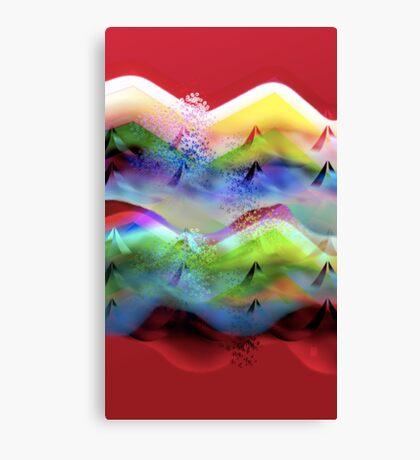 Ocean-Race Canvas Print