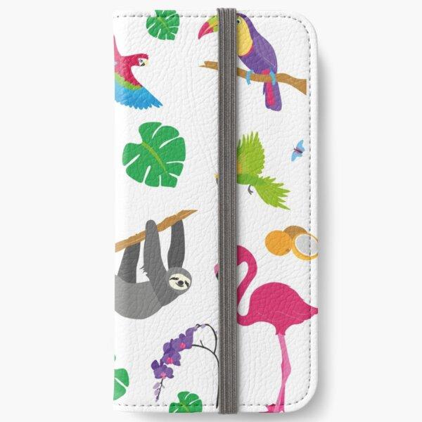 Dschungel iPhone Flip-Case
