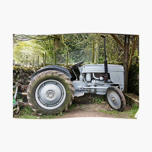 Our Good Old Tractor Poster
