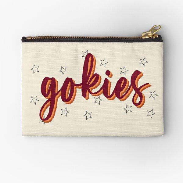 gokies calligraphy Zipper Pouch