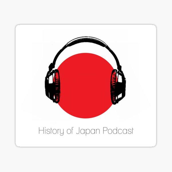 History of Japan logo Sticker