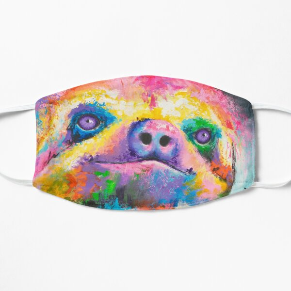 Psychedelic Sloth Mask