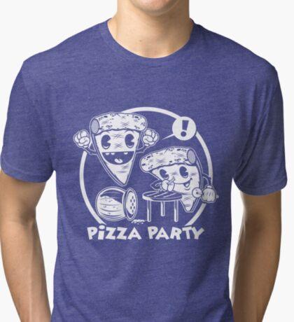 Pizza Party Tri-blend T-Shirt