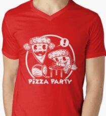 Pizza Party Men's V-Neck T-Shirt