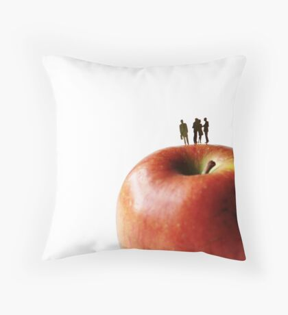 Not Up To The Jobs Throw Pillow
