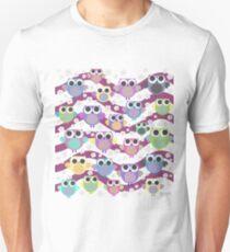 colorful owls Unisex T-Shirt