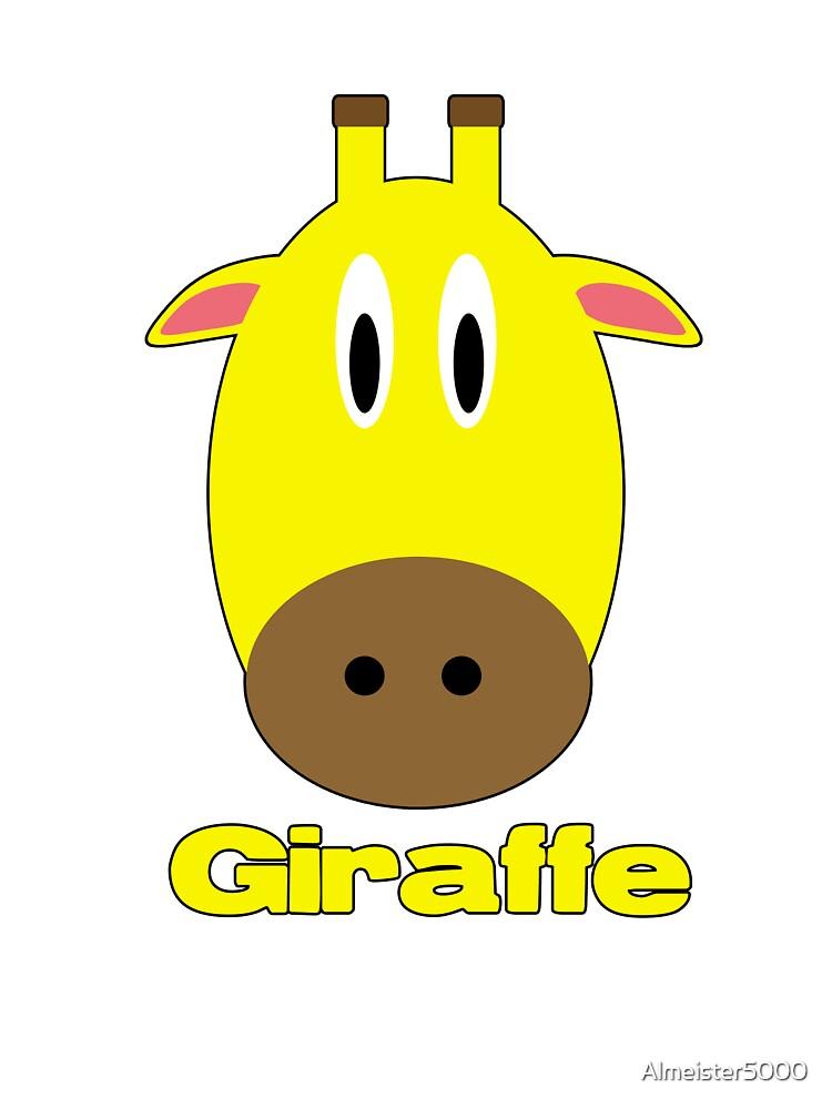 Giraffe by Almeister5000