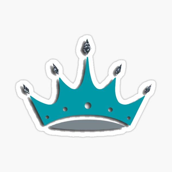 ZTA crown Sticker
