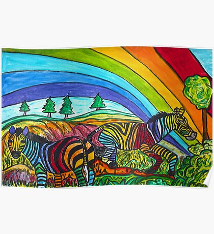 Rainbow Chasers Poster