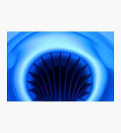 Moody Blue Photographic Print