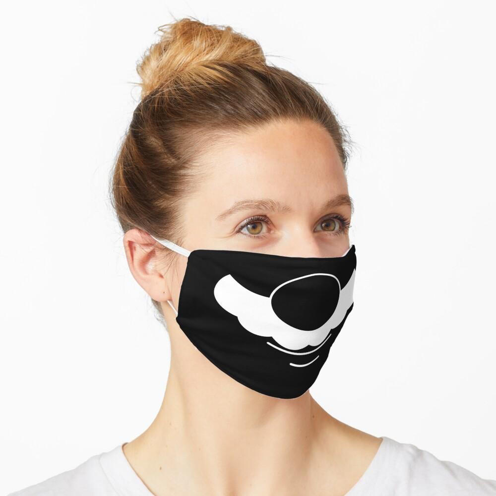 Game Zone Mustache Mask Mask