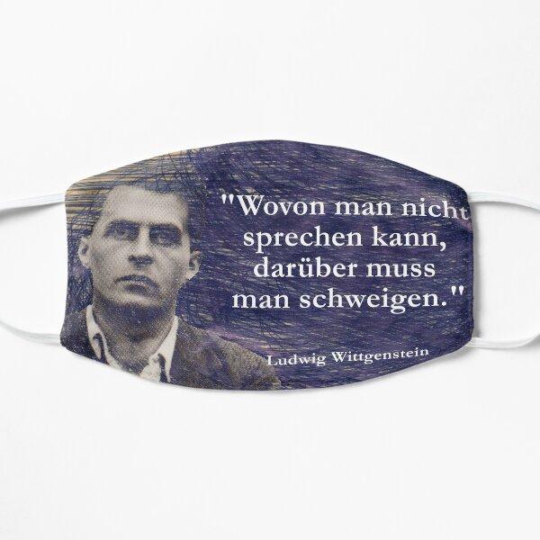 Ludwig Wittgenstein Flat Mask