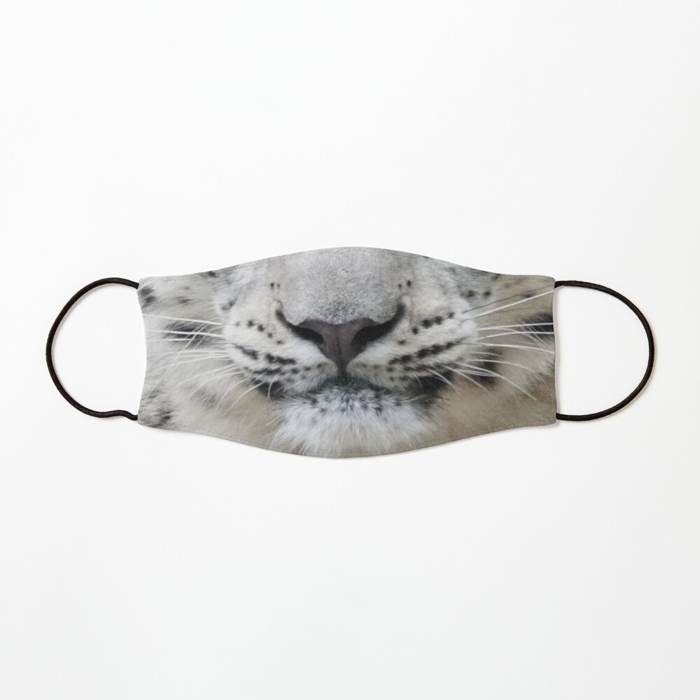 Snow Leopard Face Protective Mask Mask