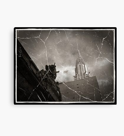 Center of the World Canvas Print
