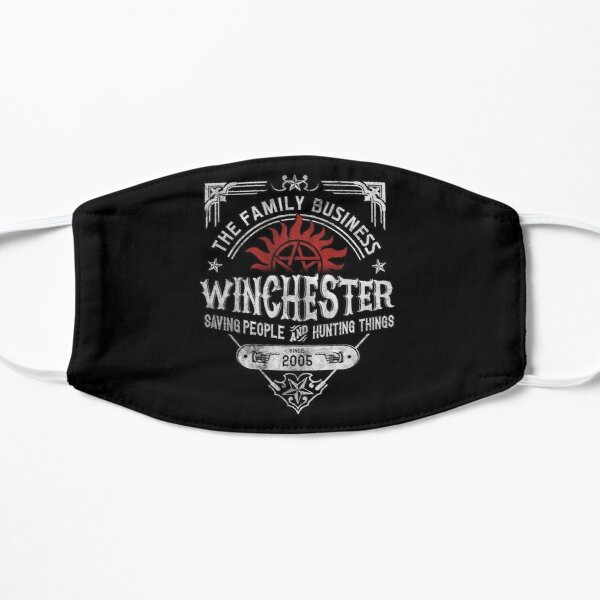 The Family Business Winchester Saving People and Hunting Things | Supernatural™ Flat Mask