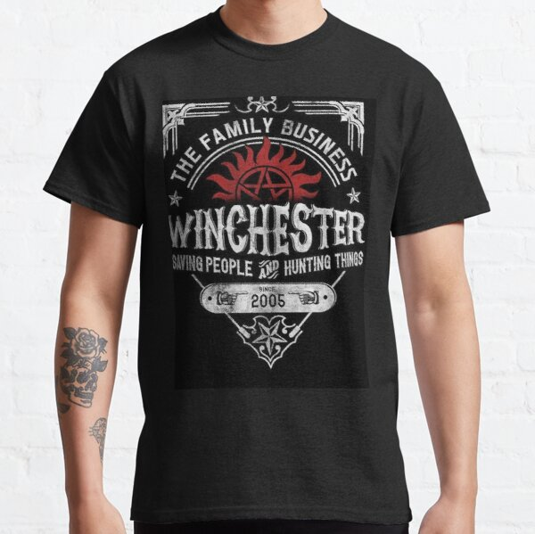 El negocio familiar Winchester salvando personas y cazando cosas   Supernatural ™ Camiseta clásica