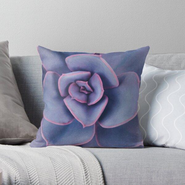 Purple Pearl Throw Pillow