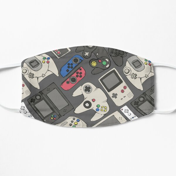 Video Game Controllers in True Colors Mask