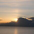 Antelope Island Utah Senset by Ray Rozelle