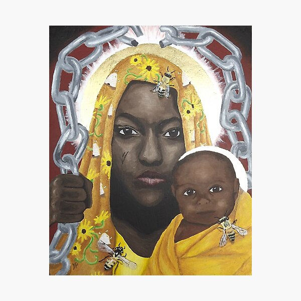 Our Lady, Breaker of Chains Photographic Print
